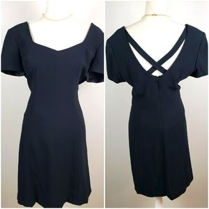 Liz Claiborne Cocktail Dress EUC 14 Petite Vintage